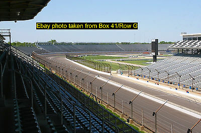 2 Indy 500 Tickets • PADDOCK PENTHOUSE / BOX 40 / ROW E • Indianapolis IndyCar