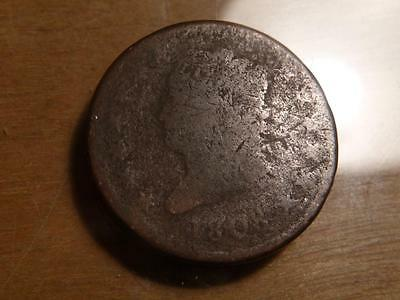 1808 Classic Head Large Cent, Well Worn Condition....SKU#11302