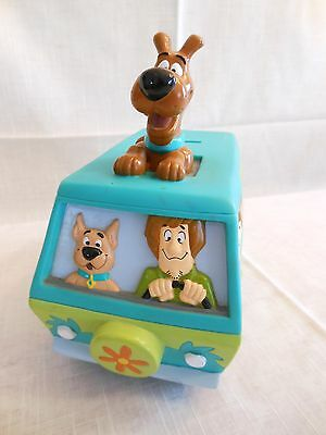 RARE Vtg 1999 Hanna Barbera Scooby Doo Mystery Machine Van Scooby On Top BANK