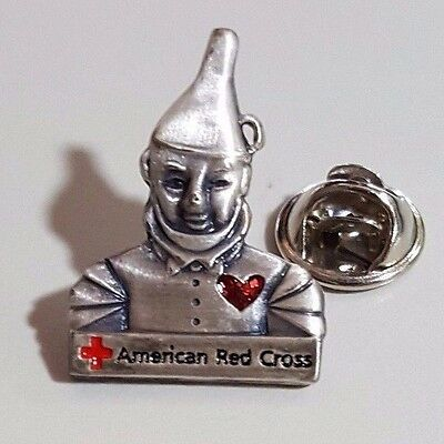 2002, TIN WOODSMAN pin from Wyandotte County Chapter of the American Red Cross