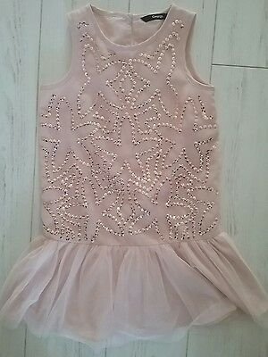 girls SUMMER party SEQUIN DRESS age 5-6
