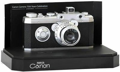 Brand New Canon Hansa 75th Anniversary Miniature Replica Collector's Camera, Box