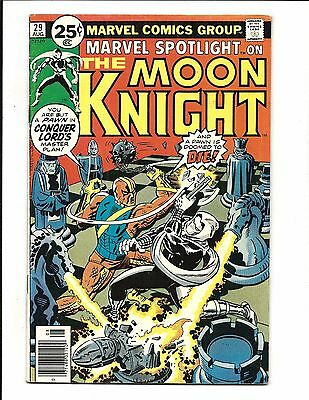 MARVEL SPOTLIGHT # 29 (MOON KNIGHT, Cents Issue, AUG 1976), FN/VF