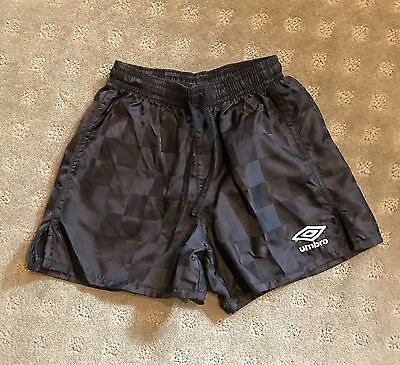 Umbro Boys Girls Black Soccer Shorts XX-Small 4/5
