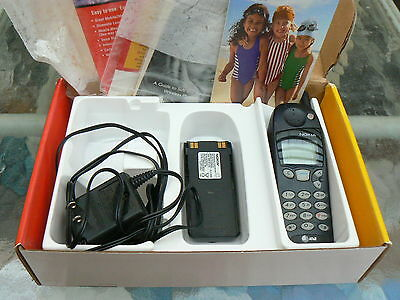AT&T NOKIA 5160i PHONE IN BOX WITH BATTERY & CHARGER *WORKING VINTAGE EXCELLENT+