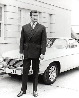 Roger Moore - The Saint - 10x8 Unsigned Still