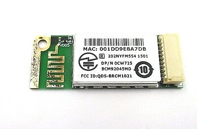 Dell Laptop Truemobile 355 Bluetooth 2.0 Wireless Card Module CW725 BCM92045MD