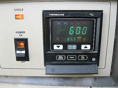 Barnstead Thermolyne Type 6000 #F6038CM Ashing Furnace 208V Phase 1 + Manual