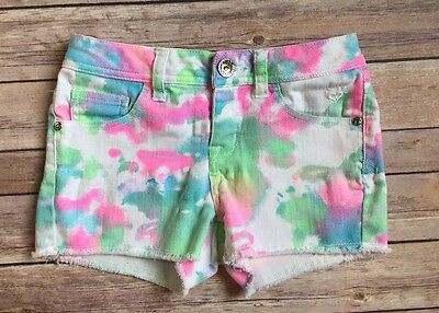 Girls Justice Brand Multi-Color Shorts Size 10R-VGUC