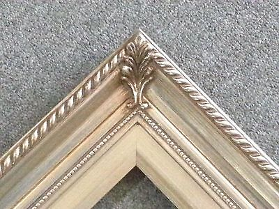 "3.25"" Silver Wood Antique Photo Picture Frame  16""x20"" 296S (Lot of 5)"