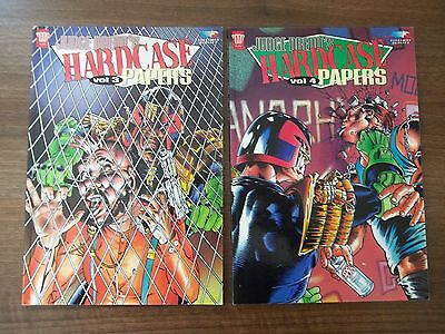 Judge Dredd's Hardcase Papers: 3 & 4 + JD Rules! 3, JD Classics 69, PSI - 4 & 11