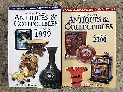Two Antique Trader Antiques And Collectibles Price Guide