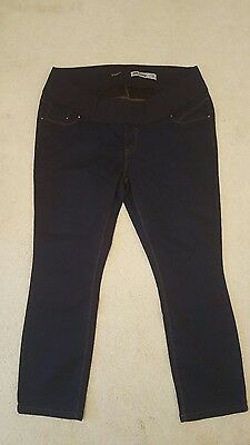 "Maternity jeans, New Look, size 16, skinny, under bump, blue, 28"" leg, bnwot"