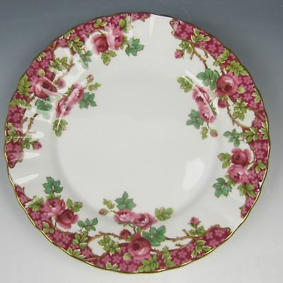 Royal Stafford China OLDE ENGLISH GARDEN-RED Bread & Butter Plate(s) EXCELLENT