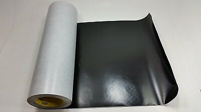 3M Scotch 4712 Black Vinyl Plastic Tape, Linered, 24 in x 36 yd,  1 roll