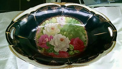 Reduced, $~VERY OLD Antique  bowl~1930's~Perfect Condition! Tie ribbons on ends?