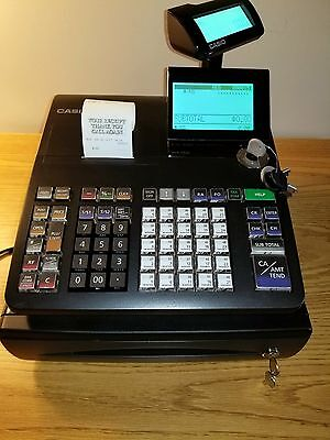 Casio PCR-T500 Electronic cash register BARELY USED!