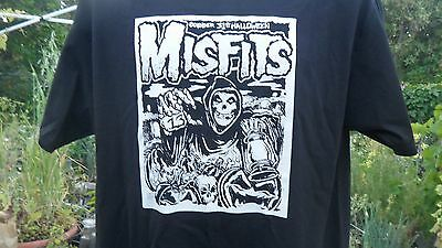 Authentic Misfits Remember Halloween From 12 hits from hell T-shirt Small to 5XL