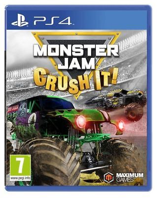 Monster Jam Crush It PS4 | PlayStation 4 - New Game
