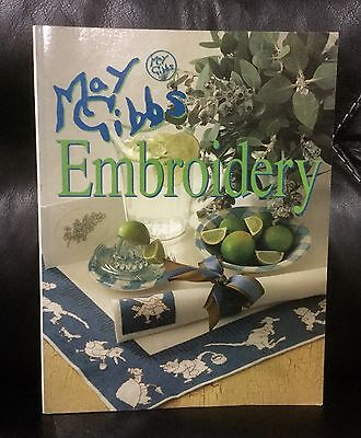 Embroidery Book - May Gibbs - Australian Patterns - Animals And Flowers