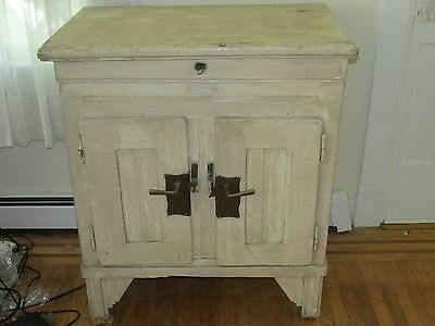 Nice Antique Ice Box, European?