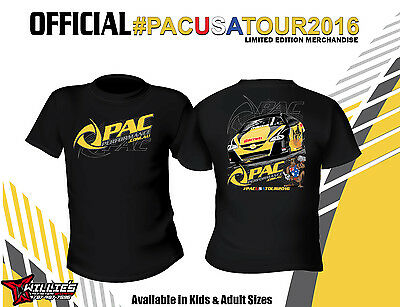 Pac Performance USA TOUR 2016 Printed T-Shirt - Kids-FREE GIFT !!!!
