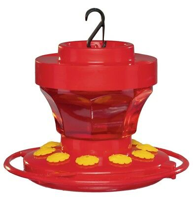 First Nature 3091 Hummingbird Nectar Flower Feeder with Easy Cleaning 16 oz.