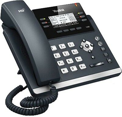IP Phone T41P Telephone VoIP SIP.  Use stand alone or with a PBX system