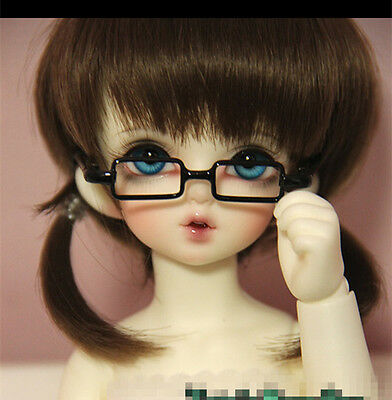 Cool Black Punk Glasses For BJD 1//4 MSD 1//3 SD17 Uncle Doll Accessories GS10