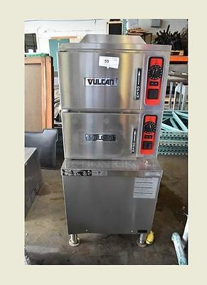 Vulcan C24GA6 Double Stack Natural Gas Steamers
