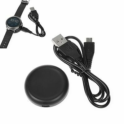Qi Wireless USB Charger Charging Cradle Dock Cable for LG Watch Style LG-W270#BK