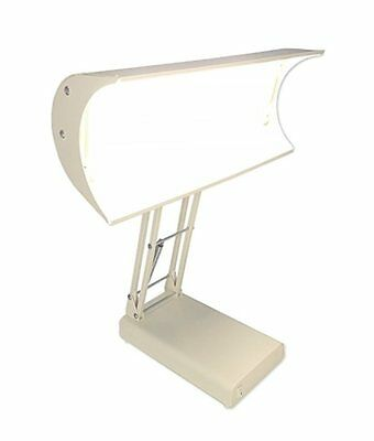 Northern Light 10,000 Lux Bright Light Therapy Desk Lamp, Beige -NEW IN OPEN BOX