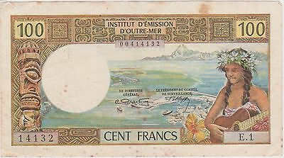 (NI-86) 1960s French NUMEA 100 frank bank note (E)