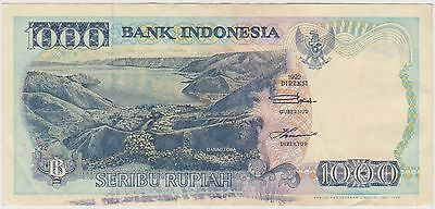 (NI-192) 1992 Indonesia 1000 rupiah bank note (AM)