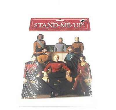 1992 Star Trek TNG The Next Generation 'Stand-Me Up' greeting card