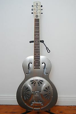 Gretsch G9221 Steel Resonator Acoustic Guitar with Case
