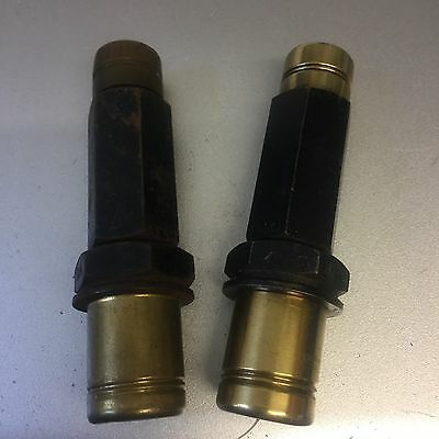 vintage TWO US AN AERO spark plugs