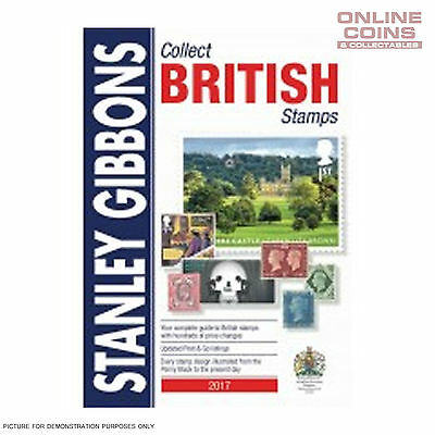 Stanley Gibbons Collect British Stamps Catalogue 2017 68th Edition - NEW STOCK