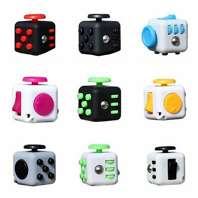AU Magic Fidget Cube Anti-anxiety Focus Stress Relief Kids Adults Toy Xmas Gift