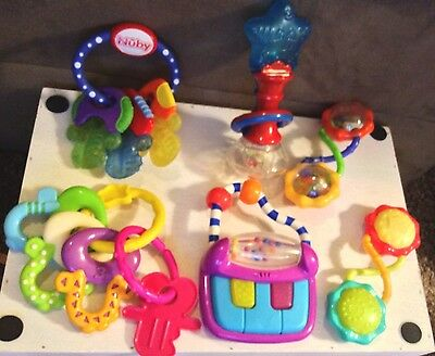 Bright Stars Lot Baby Toys Developmental Nuby Toys