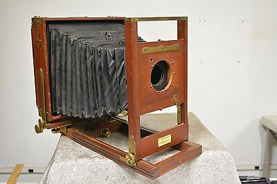 """Rochester Optical Full Plate EMPIRE STATE VIEW CAMERA 6.5""""x8.5"""" Large Format"""