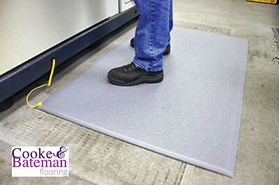 Grey Anti Static Matting ESD Flooring Mat Slip Resistant All Sizes Workplace