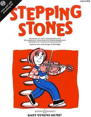 Stepping Stones Violin Book & Cd
