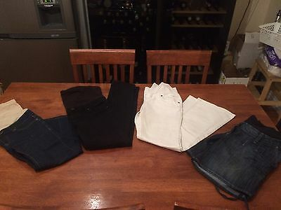 Maternity Jeans Bundle Size 8
