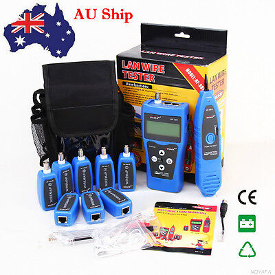 AU Ship NF388 Network Ethernet LAN Phone Tester Wire Tracker USB Coaxial Cable
