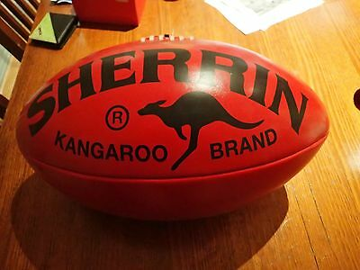 Huge Sherrin Branded Football Promotional Autograph Ball Must See