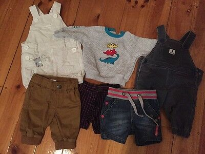 Country road, pumpkin patch baby boy clothes bundle 0-3 months