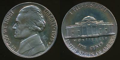 United States, 1975-S 5 Cents, Jefferson Nickel - Proof