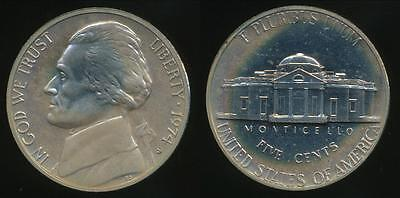 United States, 1974-S 5 Cents, Jefferson Nickel - Proof