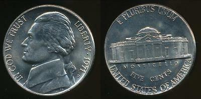 United States, 1971-D 5 Cents, Jefferson Nickel - Uncirculated
